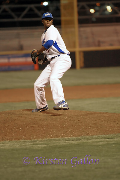 Brandon Wilkerson takes over closing duties at pitcher.