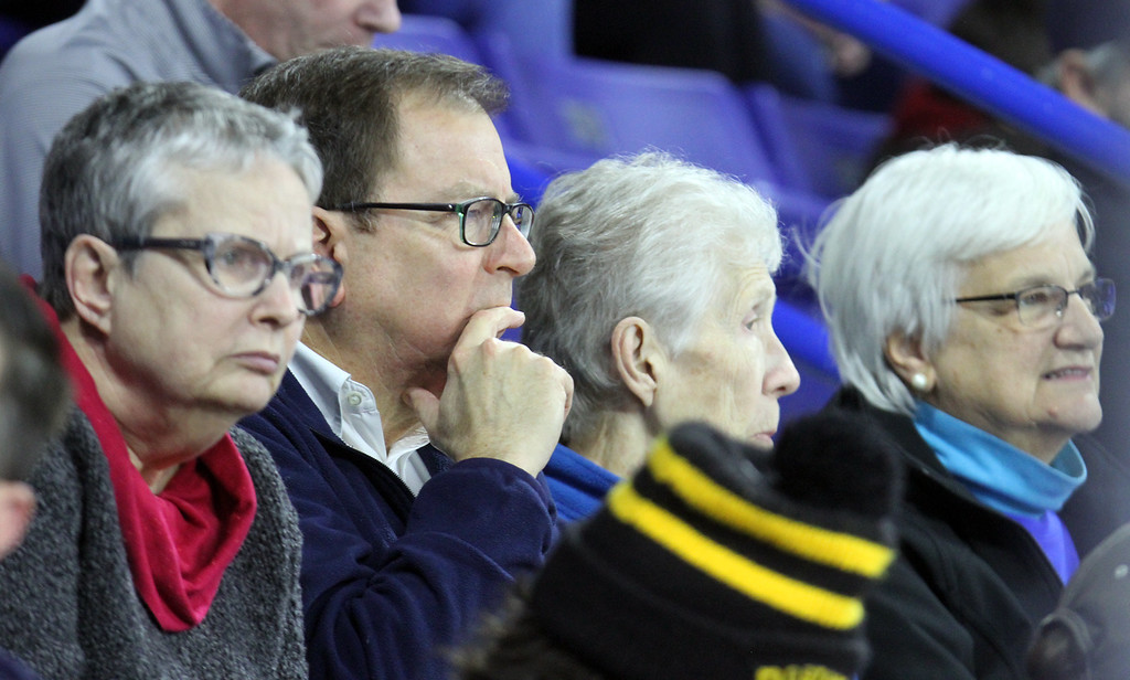 . Faces in the Crowd: UMass Lowell vs BC hockey. (SUN/Julia Malakie)