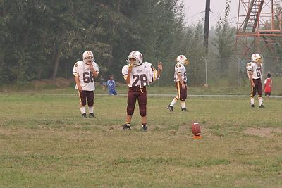 AYF REDSKINS VS YELLOW VIKINGS AUG 16