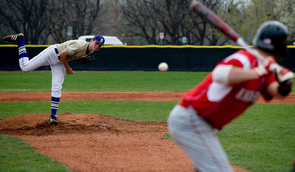 Boulder's Walker Henry pitches to Fairview during the first inning of the game at Scott Carpenter Park in Boulder, Saturday, APril 17, 2010.