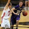 Riley Grabau of Boulder works against Ryan Gallup of Fairview.<br /> <br /> Cliff Grassmick / January 22, 2010