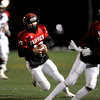 Fairview High School's Ben Schumacher (10) carries the ball while playing Columbine High School's during the state playoffs at Recht Field in Boulder, Friday, Nov. 20, 2009. <br /> <br /> KASIA BROUSSALIAN / THE CAMERA