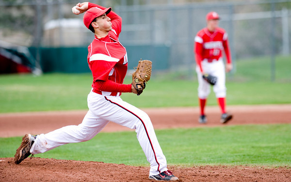 Fairview pitcher Roby Gordon pitches during the game against Fort Collins at Fairview High School in Boulder, Saturday, April 24, 2010. <br /> <br /> Kasia Broussalian