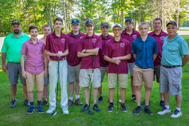 Fairview High School Boys Golf Team 2018