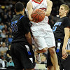 "Darragh O'Neill  of Fairview drives the lane past  Chris Martin of Grandview.<br /> For more Fairview photos, go to photo galleries at  <a href=""http://www.dailycamera.com"">http://www.dailycamera.com</a>.<br /> Cliff Grassmick / March 5, 2010"