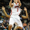 "Darragh O'Neill  of Fairview drives the lane past  Zack Cowan of Grandview.<br /> For more Fairview photos, go to photo galleries at  <a href=""http://www.dailycamera.com"">http://www.dailycamera.com</a>.<br /> Cliff Grassmick / March 5, 2010"