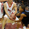 """Darragh O'Neill of Fairview and Tim Martin of Grandview battle for the ball on Friday.<br /> For more Fairview photos, go to photo galleries at  <a href=""""http://www.dailycamera.com"""">http://www.dailycamera.com</a>.<br /> Cliff Grassmick / March 5, 2010"""
