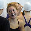 "Kourtney Fosse of Fairview jokes with a teammate before the Fairview Invitational on Friday.<br /> For more photos of the meet, go to  <a href=""http://www.dailycamera.com"">http://www.dailycamera.com</a>.<br /> Cliff Grassmick / December 3, 2010"