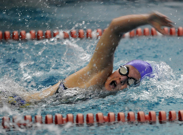 "Amanda Richey of Boulder High, wins the 100-yard freestyle at the Fairview Invitational.<br /> For more photos of the meet, go to  <a href=""http://www.dailycamera.com"">http://www.dailycamera.com</a>.<br /> Cliff Grassmick / December 3, 2010"