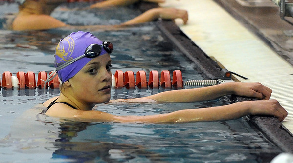 """Amanda Richey of Boulder High, wins the 100-yard freestyle at the Fairview Invitational.<br /> For more photos of the meet, go to  <a href=""""http://www.dailycamera.com"""">http://www.dailycamera.com</a>.<br /> Cliff Grassmick / December 3, 2010"""