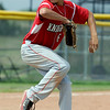 """Clay Jeanette of Fairview pitches in the second game against Monarch.<br /> For a photo gallery of the game, go to  <a href=""""http://www.dailycamera.com"""">http://www.dailycamera.com</a>.<br /> Cliff Grassmick / July 16, 2011"""