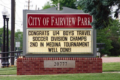 Fairview  U-14 Travel League CHAMPS!