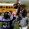 "Jack Madden (18) of Fairview, has a pass knocked away by Isaac Gillespie of Arvada West on Saturday.<br /> For more photos of the game, go to  <a href=""http://www.dailycamera.com"">http://www.dailycamera.com</a>.<br /> Cliff Grassmick / October 9, 2010"