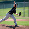 "Boulder Panthers Grant Rogers pitches to the Fairview Knights Saturday afternoon at Fairview High. The Panthers won 8-1. July 21, 2012. Rachel Woolf/ For the Daily Camera. For more photos of the game, go to  <a href=""http://www.bocopreps.com"">http://www.bocopreps.com</a>."