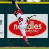 Fairview right fielder Rocky DeSantos makes an incredible catch on Friday, July 8,  during a baseball game against the Colorado Twins at Fairview High School. Fairview won 5-1.<br /> Jeremy Papasso/ Camera