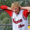 """Fairview's Sean Cunningham shows his frustration after losing 9-7 during a Legion A game against the Gene Taylor's on Friday, Aug. 3, at Scott Carpenter Park in Boulder. For more photos of the game go to  <a href=""""http://www.dailycamera.com"""">http://www.dailycamera.com</a><br /> Jeremy Papasso/ Camera"""