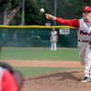 """Fairview pitcher Jeremy Katz throws a pitch during a Legion A game against the Gene Taylor's on Friday, Aug. 3, at Scott Carpenter Park in Boulder. For more photos of the game go to  <a href=""""http://www.dailycamera.com"""">http://www.dailycamera.com</a><br /> Jeremy Papasso/ Camera"""