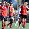 """Fairview High School's Olivia Fear, left, reacts while teammates Meghan Higgins, No. 8, hugs Berkley Gamble after defeating Heritage High School on Tuesday, May 15, at Shea Stadium in Highlands Ranch. For more photos of the game go to  <a href=""""http://www.dailycamera.com"""">http://www.dailycamera.com</a><br /> Jeremy Papasso/ Camera"""