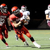 "Fairview High School's Cole Scheifele runs the ball on Friday, Sept. 23, during a football game against Horizon High School at Recht Field in Boulder. Fairview lost the game 14-10. For more photos of the game go to  <a href=""http://www.dailycamera.com"">http://www.dailycamera.com</a><br /> Jeremy Papasso/ Camera"