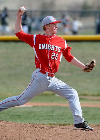 FVMON<br /> Fairview pitcher Anders Hill.<br /> Photo by Marty Caivano/May 3, 2011