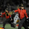 "Fairview High School marching band members perform during halftime of the football game against Mountain Vista High School on Thursday, Sept. 16, at Recht Field in Boulder. Fairview lost 34-14.<br /> For photo gallery go to  <a href=""http://www.dailycamera.com"">http://www.dailycamera.com</a><br /> Jeremy Papasso/ Camera"