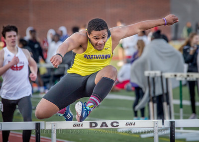 20180330-174204 Falcon Relays - 300 Hurdles - Boys