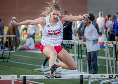 20180330-173454 Falcon Relays - 300 Hurdles - Girls