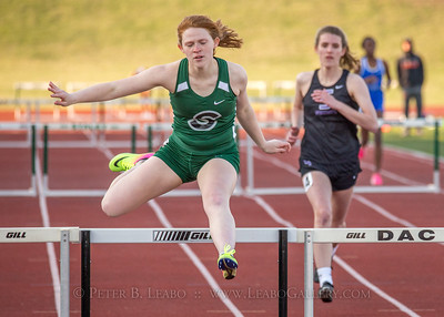 20180330-173220 Falcon Relays - 300 Hurdles - Girls