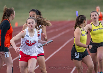 20180330-181932 Falcon Relays - 4x400 meters - Girls