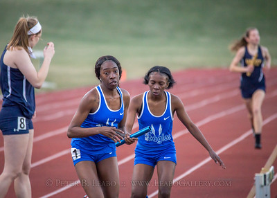 20180330-182829 Falcon Relays - 4x400 meters - Girls