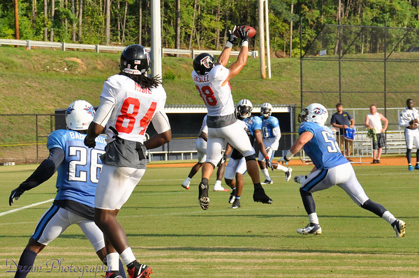 Falcons Titans scrimmage