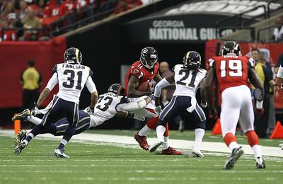 NFL 2013-Atlanta defeats St. Louis 31-24