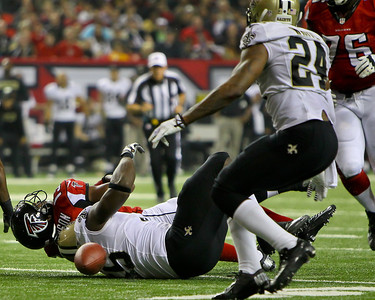 NFL 2013 - Saints beat the Falcons 17-13