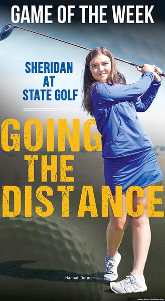 Matthew Gaston | The Sheridan Press Sheridan High School golfer Hannah Detmer.