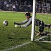 Westview goalkeeper Drew Litwiller makes the save in the sixth round of penalty kicks against Bethany Christian Saturday in Topeka.