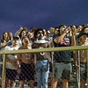 NorthWood Panthers student section reacts to a call during Saturdays game at West Noble High School in Ligonier.
