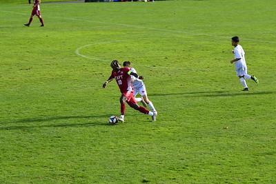 Boys' Varsity Soccer v Kent
