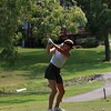 Wawasee's Taylor Cripe tees off on the 10th tee during the NLC championship tournament Saturday at Bent Oak GC in Elkhart.