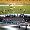 Fairfield High School marching band takes the field before Friday's game at Fairfield High School Jr./Sr. High School in Goshen.