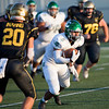 Concord receiver Anthony Trudell runs with the football against Wawasee Friday.