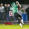 SAM HOUSEHOLDER | THE GOSHEN NEWS<br /> Concord receiver Adam Glanders catches a touchdown pass during the first quarter of the game against Northridge Friday.