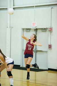 Junior Varsity Volleyball action