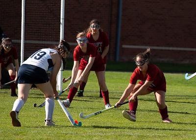 Girls' Thirds Field Hockey vs Canterbury