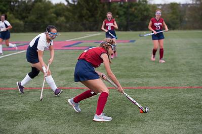 Thirds Field Hockey action