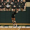 Wawasee's Leslie Vazquez serves during Thursday's game against Bethany Christian at Wawasee High School in Syracuse.