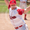 Derek Mayson, California A's, a picture of determination
