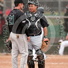 """""""You don't get this next guy out, you can get your own ride home""""<br /> (Teammates, roommates Sebastian Gervasutti, Tony Acedo, Bakersfield Silverhawks)"""