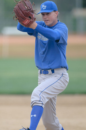 Palm Springs pitcher Graham Balog
