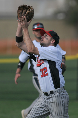 Matt Shaw making the catch.