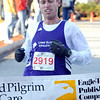 Andover: Harry Norton, of North Reading, is the first male to finish the 5 mile race of the 21st Annual Feaster Five Road Race in Andover Thanksgiving morning. Photo by Tim Jean/Eagle-Tribune Thursday, November 27, 2008